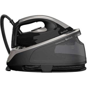 Statie de calcat TEFAL Express Easy SV6140E0, 2200W, 380g/min, 1.7l, talpa ceramica, negru-gri