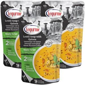 Supa de linte cu quinoa LEGURME, 250g, 3 bucati