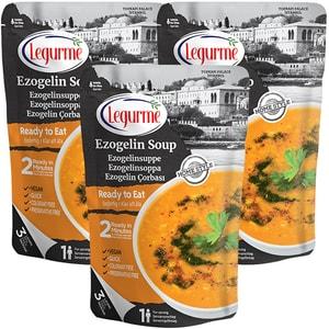 Supa de linte rosie cu bulgur (Ezogelin) LEGURME, 250g, 3 bucati