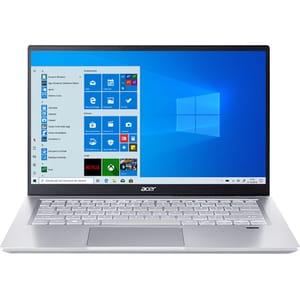 """Laptop ACER Swift 3 SF314-43-R75L, AMD Ryzen 3 5300U pana la 3.8GHz, 14"""" Full HD, 8GB, SSD 256GB, AMD Radeon Graphics, Windows 10 Home, argintiu"""
