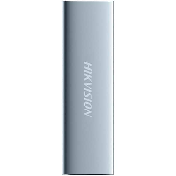 SSD portabil HIKVISION T100N, 480GB, USB 3.1 Type-C, argintiu deschis