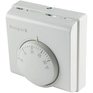 Termostat HONEYWELL T6360A1079, cu fir, mecanic, alb