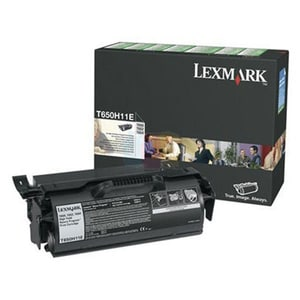 Toner LEXMARK XL T650H11E Return Program, negru
