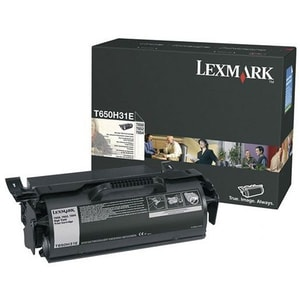 Toner LEXMARK T650H31E Corporate Return Program, negru