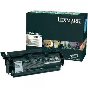 Toner LEXMARK XXL T654X11E Return Program, negru