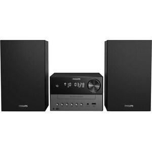 Microsistem PHILIPS TAM3505/12, 18W, Bluetooth, Radio, negru