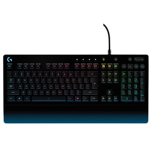 Tastatura Gaming LOGITECH Prodigy G213, USB, Layout US INT, negru