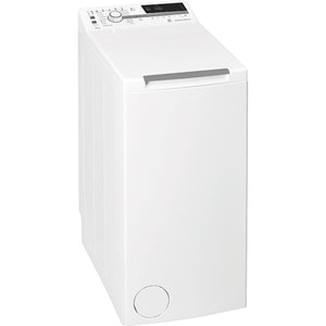Masina de spalat rufe verticala WHIRLPOOL TDLR 7221BS EU-N, 6th Sense, 7 kg, 1200rpm, Clasa E, alb