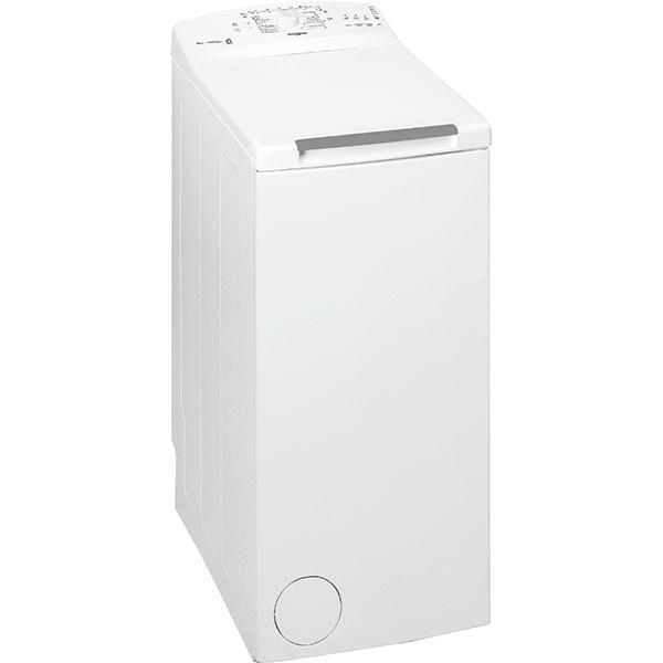 Masina de spalat rufe verticala WHIRLPOOL TDLR 6030L EU-N, 6th Sense, 6 kg, 1000rpm, Clasa D, alb