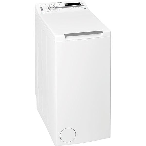 Masina de spalat rufe verticala WHIRLPOOL TDLR65230SSEU/N, 6th Sense, 6.5 kg, 1200rpm, Clasa D, alb
