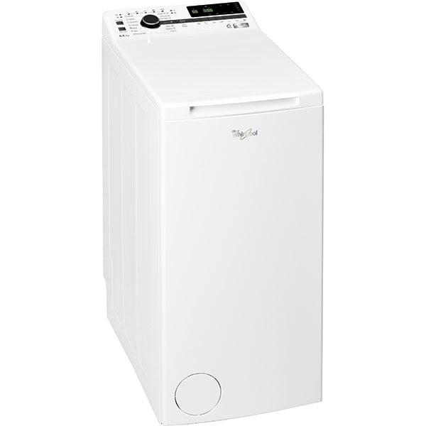 Masina de spalat rufe verticala WHIRLPOOL TDLRB 65242BS EU-N 6th Sense, 6.5 kg, 1200rpm, Clasa C, alb