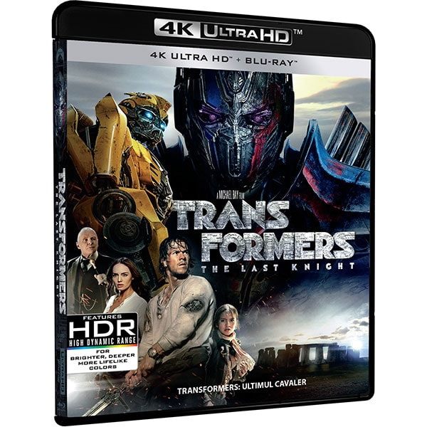 Transformers: Ultimul cavaler UHD, Combo (UHD + Blu-ray)
