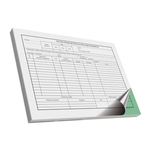 Note de receptie si constatare diferente VOLUM, A4, 50 file x 3 carnete