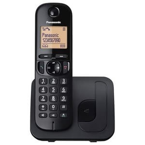 Telefon fix Panasonic KX-TGC210FXB, DECT, negru