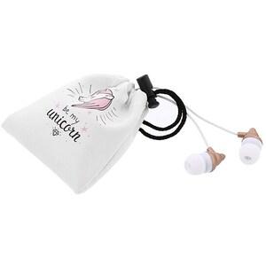 Casti TELLUR Magiq TLL162212, Cu fir, In-Ear, Microfon, roz