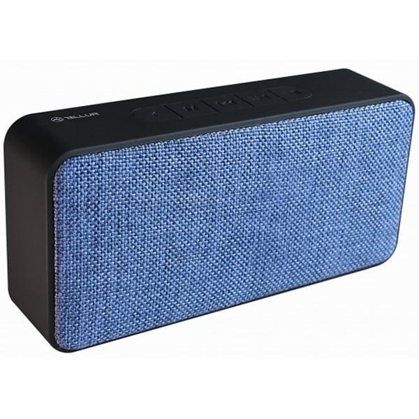 Boxa portabila TELLUR Lycaon TLL161051 Bluetooth, Radio FM, Albastru