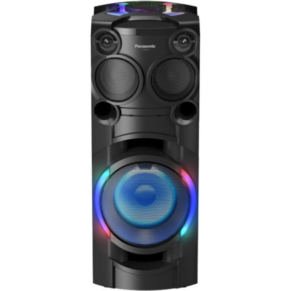 Sistem audio PANASONIC SC-TMAX40, 1200W, Bluetooth, USB, CD, Radio FM, Full Karaoke, negru