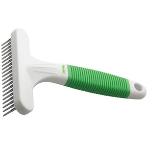 Pieptan T pentru descalcit blana animalelor WAHL 858457, verde