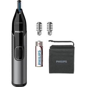Trimmer nas / urechi / sprancene PHILIPS NT3650/16, baterie, gri