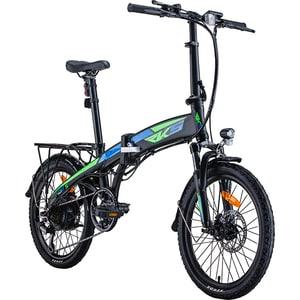 Bicicleta electrica pliabila RKS TNT-5, 20 inch, negru