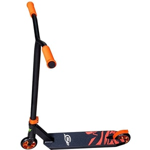 Trotineta DHS 320010960, 2 roti/10cm, greutate suportata 120kg, negru-portocaliu