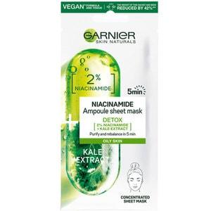Masca de fata GARNIER Skin Naturals Ampoule Detox, 15g