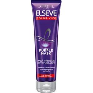 Masca de par ELSEVE Color Vive Purple, 150ml
