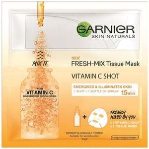 Masca de fata cu vitamina C GARNIER Skin Naturals Fresh-Mix, 33gr