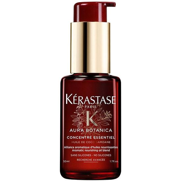 Tratament pentru par leave-in KERASTASE Aura Botanica Concentre Essentiel, 50ml