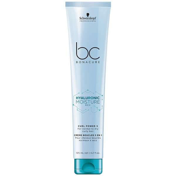 Tratament pentru par leave-in SCHWARZKOPF Professional BC Bonacure Hyaluronic Moisture Kick Curl Power, 125ml