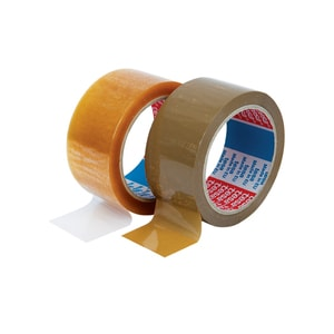 Banda adeziva TESA, 48 mm x 66 m, solvent transparenta