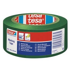 Banda adeziva de marcare TESA, 50 mm x 33 m, verde