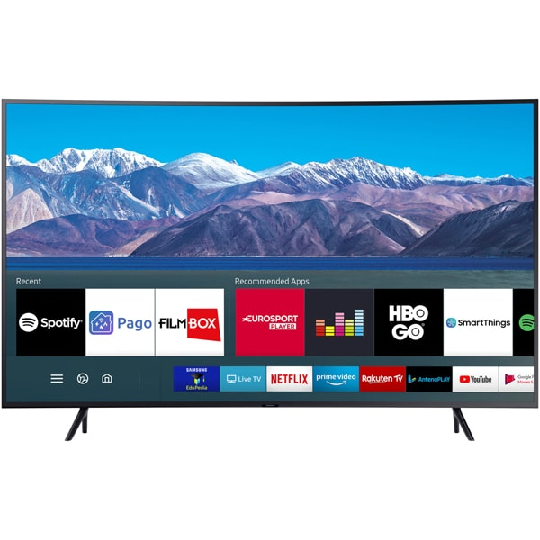 Televizor Curbat LED Smart SAMSUNG 55TU8372, Ultra HD 4K, HDR, 138 cm