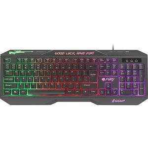 Tastatura Gaming FURY Hellfire 2, USB, negru
