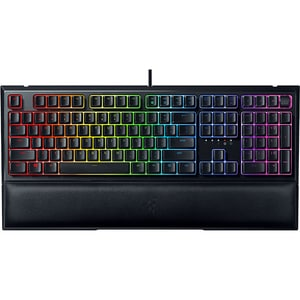 Tastatura Gaming semi-mecanica RAZER Ornata V2, Mecha-Membrane Switch, USB, Layout US INT, negru