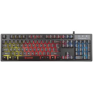 Tastatura Gaming MARVO K616A, USB, negru
