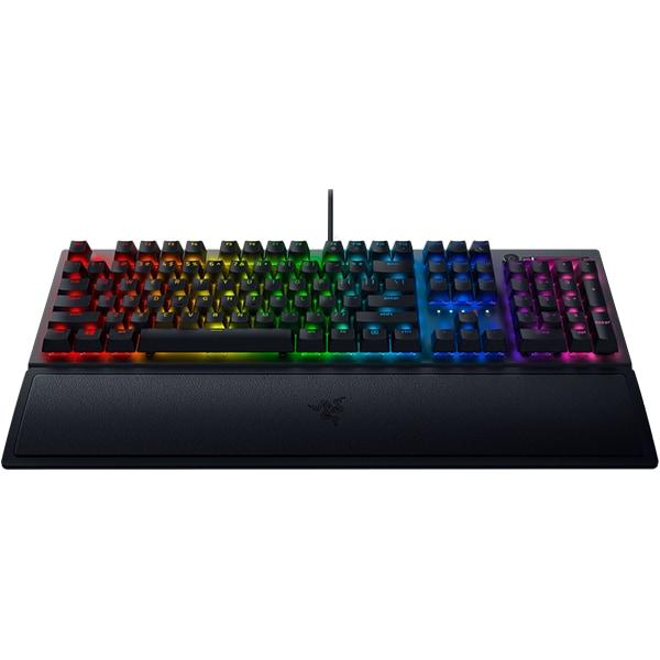 Tastatura Gaming mecanica RAZER BlackWidow V3, Green Switch, US, negru