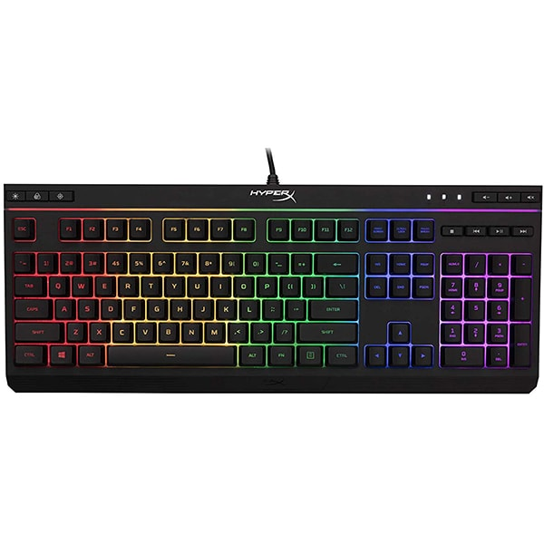Tastatura Gaming HyperX Alloy Core RGB, USB, Layout US, negru