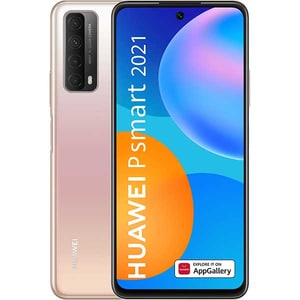 Telefon HUAWEI P Smart 2021, 128GB, 4GB RAM, Dual SIM, Blush Gold