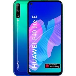 Telefon HUAWEI P40 Lite E, 64GB, 4GB RAM, Dual SIM, Aurora Blue