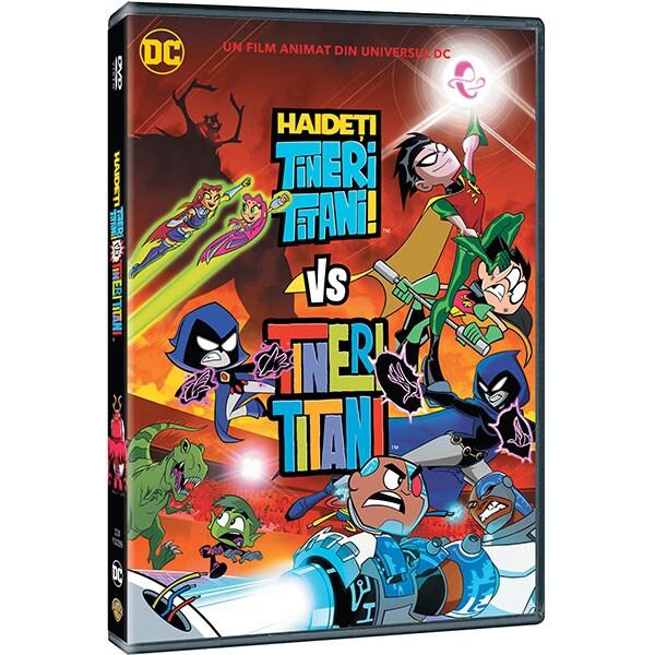 Haideti tineri titani! vs Tineri titani DVD