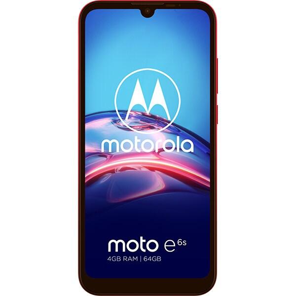 Telefon MOTOROLA Moto E6s Plus, 64GB, 4GB RAM, Dual SIM, Sunrise Red