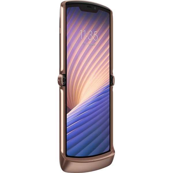 Telefon MOTOROLA Razr 5G, 256GB, 8GB RAM, Dual SIM, Blush Gold