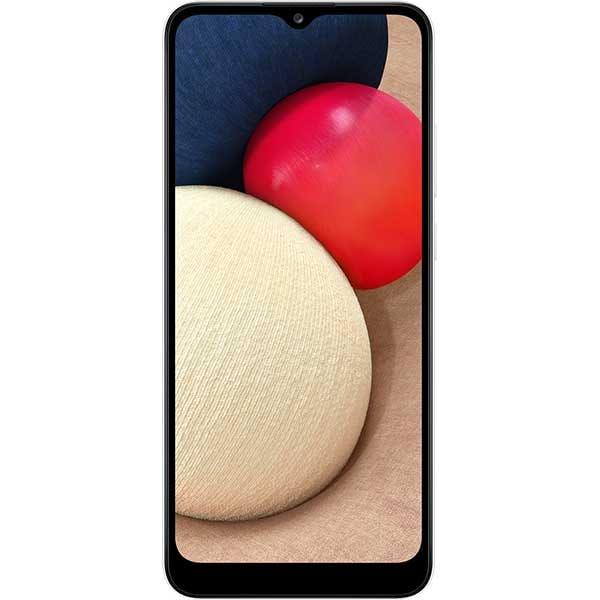 Telefon SAMSUNG Galaxy A02s, 32GB, 3GB RAM, Dual SIM, White