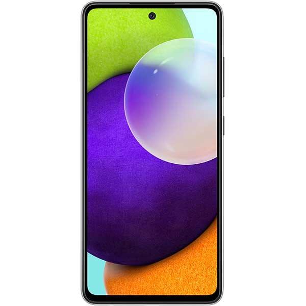 Telefon SAMSUNG Galaxy A52, 128GB, 6GB RAM, Dual SIM, Awesome Black