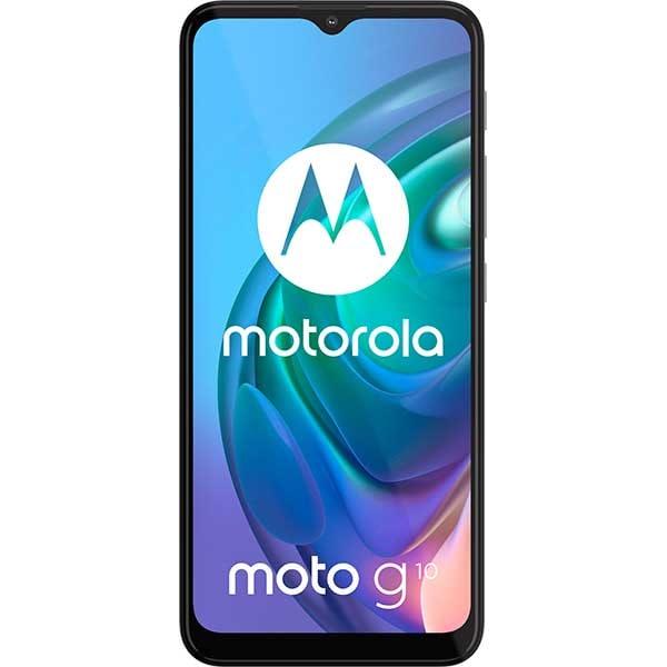 Telefon MOTOROLA Moto G10, 64GB, 4GB RAM, Dual SIM, Pearl White