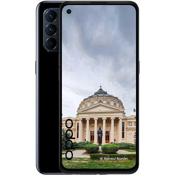 Telefon OPPO Reno5 5G, 128GB, 8GB RAM, Dual SIM, Starry Black