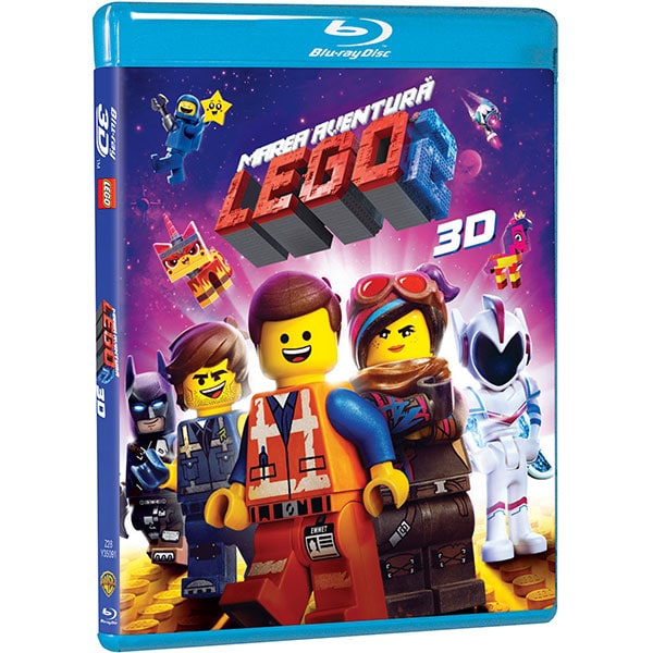 The LEGO Movie 2 Blu-ray 3D