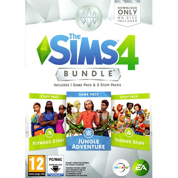 The Sims 4 Bundle 6 (Code in a Box) PC