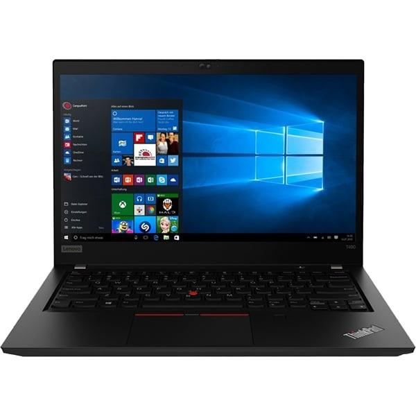 """Laptop LENOVO ThinkPad T490, Intel Core i7-8565U pana la 4.6GHz, 14"""" Full HD, 8GB, SSD 256GB, Intel UHD Graphics, Windows 10 Pro, negru"""